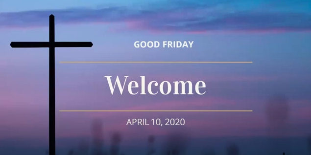 April 10 – Good Friday – Collaborative Worship